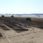 土壌改良材散布