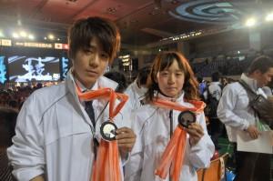 銀賞メダル