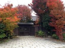 shibafuのブログ-社長宅玄関